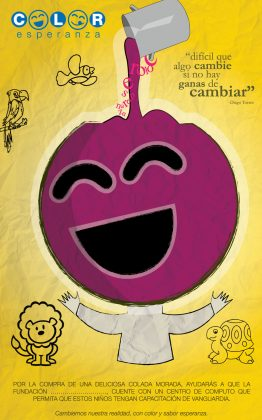 Afiche - Color Esperanza - Campaña Social
