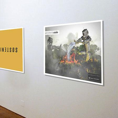 Talentos Design 10 - Afiche Robots
