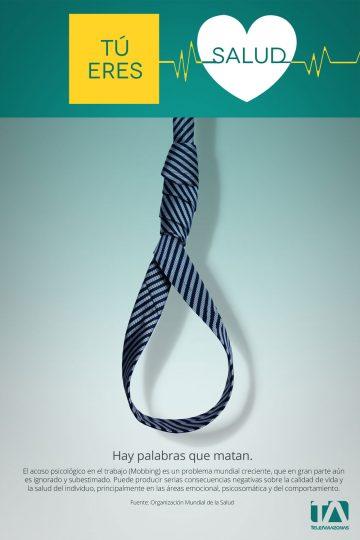 Teleamazonas - Campaña Salud - Afiche Mobbing