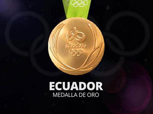 Olimpiadas Río 2016 - Animación Medallas para Pantalla TV