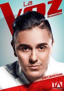 Portada - La Voz Ecuador II (Joey Montana)
