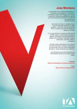 Página interior - La Voz Ecuador II (Joey Montana)