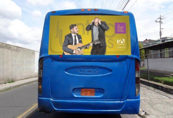 Gigantografía posterior - Teleamazonas - Campaña Publicitaria