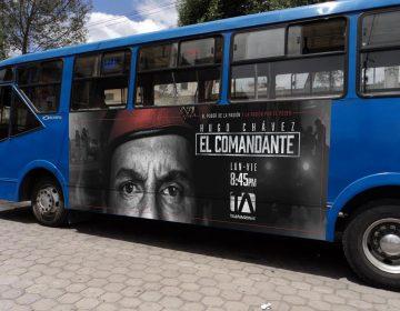 Gigantografía Bus Urbano Lateral - El Comandante - Campaña Publicitaria