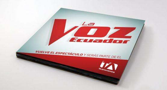 Digipack - La Voz Ecuador II