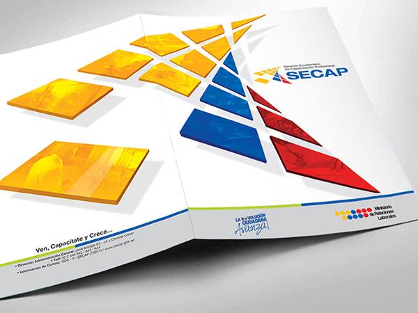 Carpeta - Secap - Papeleria Institucional