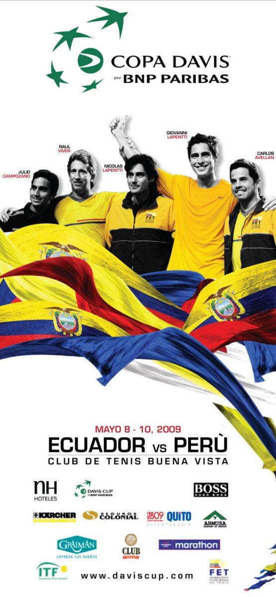 Copa Davis - Hoja Volante