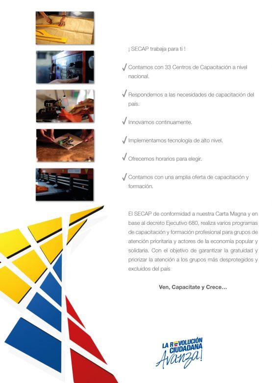 Hoja Volante - Secap - Papeleria Institucional