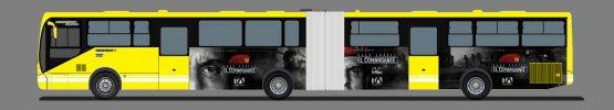 Gigantografía Metrobus - El Comandante - Campaña Publicitaria