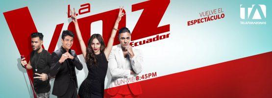Gigantografìa - La Voz Ecuador II