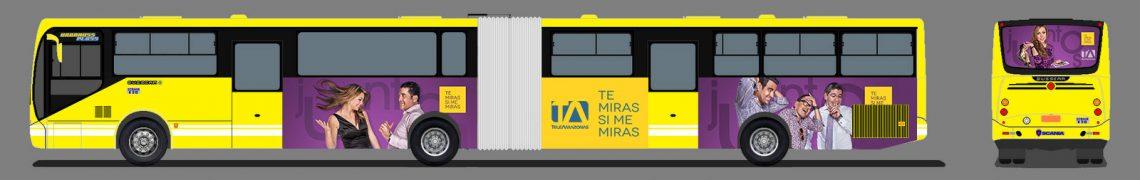Gigantografías Metrobus - Teleamazonas - Campaña Publicitaria