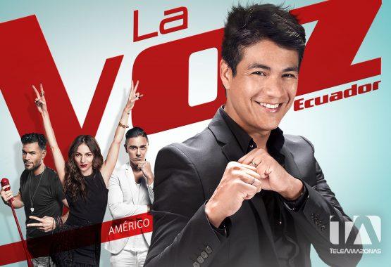 Postal - La Voz Ecuador II (Américo)