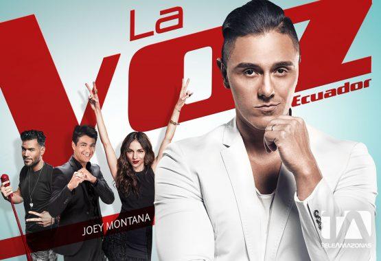 Postal - La Voz Ecuador II (Joey Montana)