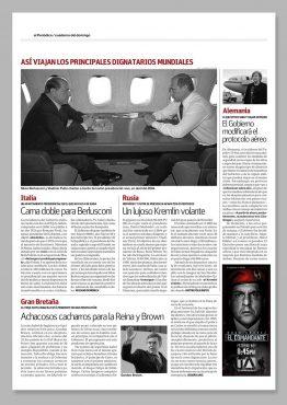 Prensa - El Comandante - Campaña Publicitaria
