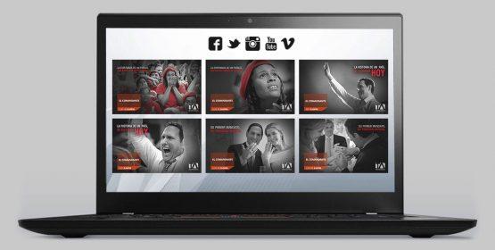Redes Sociales - El Comandante - Campaña Publicitaria