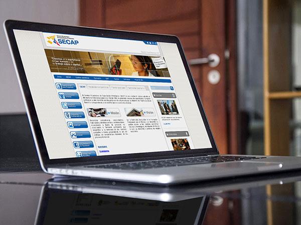 Secap - Home Web y Aula Virtual