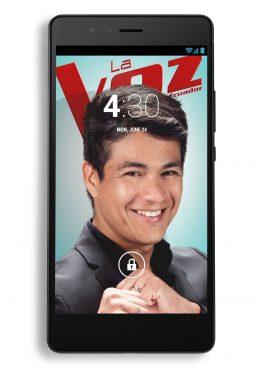 Smartphone Wallpaper - La Voz Ecuador II (Américo)