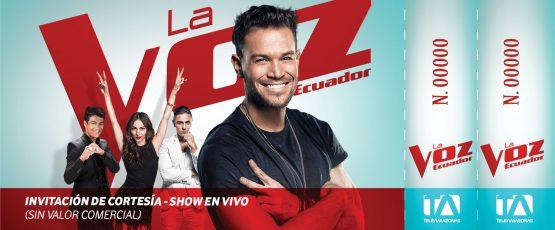 Ticket - La Voz Ecuador II (Daniel Beta)