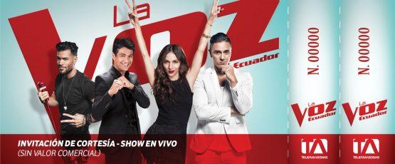 Ticket - La Voz Ecuador II