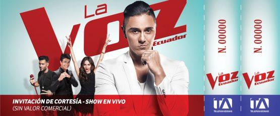 Ticket - La Voz Ecuador II (Joey Montana)