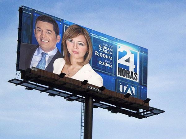 Valla - 24 Horas - Campaña Publicitaria