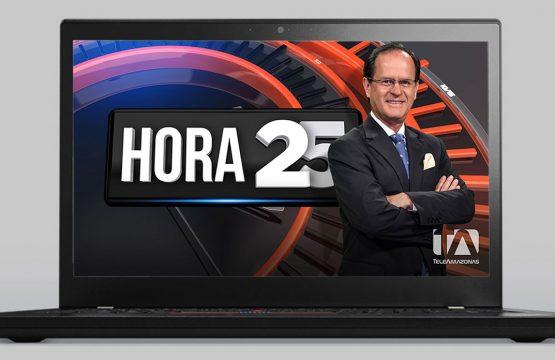 Wallpaper - Hora 25 - Página Web