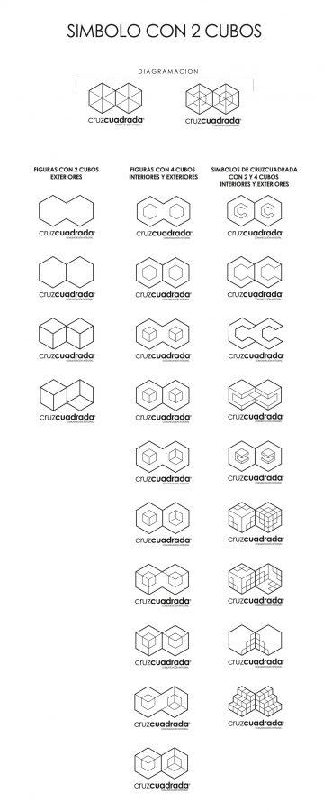 Propuestas Logotipo - Cruz Cuadrada - Identidad Corporativa