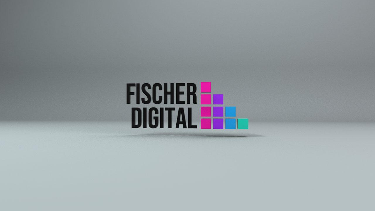 Fischer Digital Agency - Animación Imagotipo 3D