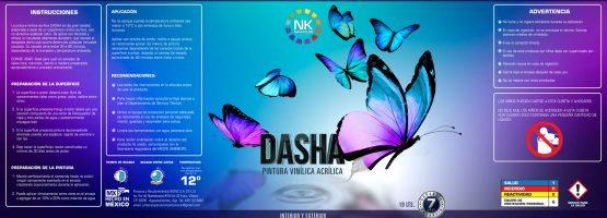 Navikolor - Etiqueta de Pintura - DASHA Full