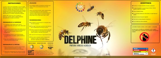 Navikolor - Etiqueta de Pintura - DELPHINE Full