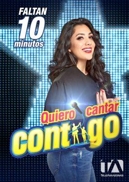Quiero Cantar Contigo - Pamela Cortés - Redes Sociales por Vladimir Zambrano.
